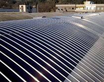 Kit solar térmico / para integración de techos