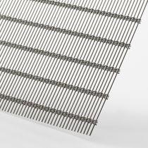 Malla metálica de revestimiento / para revestimiento interior / para pantalla solar / para techo