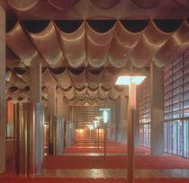 Malla metálica de revestimiento / para decoración interior / para pantalla solar / para techo