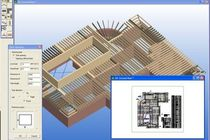 Programa de análisis estructural / para estructura de madera / 3D