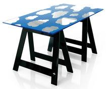 Mesa moderna / de fibra acrílica / rectangular