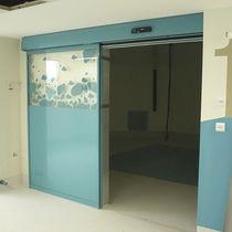 Puerta de interior / corredera / de vidrio / automática