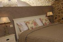 Cabecero para cama doble / moderno / de tela