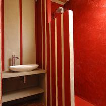Enlucido decorativo / de interior / para muro / a base de cemento