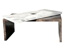 Mesa moderna / de hormigón / de interior