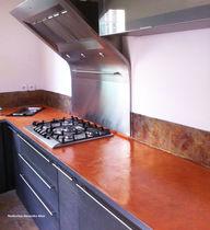 Encimera de hormigón / para cocina