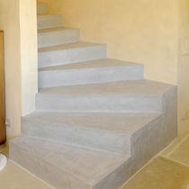 Enlucido decorativo / de suelo / a base de cemento / de efecto hormigón