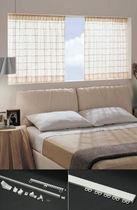 Riel para cortina para cortinas fruncidas / para uso doméstico / para ventanas pequeñas