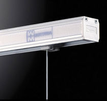 Sistema de apertura para cortinas plegable / motorizado