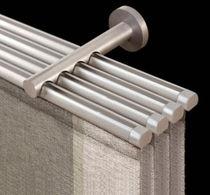 Riel para cortina con accionamiento manual / con fijación mural / para paneles tendidos
