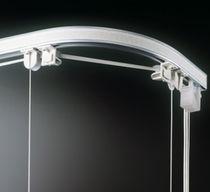 Sistema de apertura para cortinas plegable / accionado mediante cordones / para uso doméstico