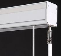 Sistema de apertura para cortinas plegable / accionado mediante cadena / accionado mediante manivela / para uso residencial