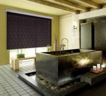 Estores enrollables / de tela / para montajes en techo / con fijación mural