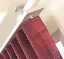 Riel para cortina para montajes en techo / con fijación mural / para cortinas fruncidas / para uso doméstico