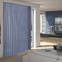 Riel para cortina con fijación mural / con accionamiento manual / para cortinas fruncidas / para ventana