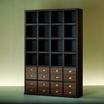 Biblioteca modular / moderna / de madera