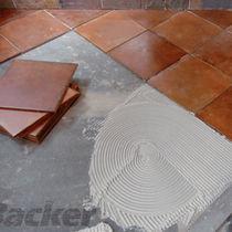 Panel de hormigón reforzado con fibra / de revestimiento / para pavimento / de alta resistencia