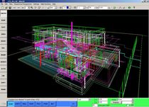 Programa de CAD / Sistema de Información Geográficas SIG / para estructura de acero / 3D