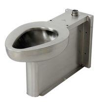 Inodoro de pie / de acero inoxidable / para baño público