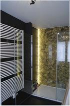 Panel decorativo acrílico / para cuarto de baño