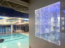 Panel decorativo de resina / acrílico / para interiores / liso