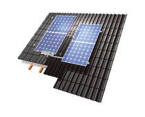 Estructura de soporte para tejado inclinado / de cubiertas / para cubierta de tejas / para aplicaciones fotovoltaicas