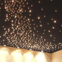 Plafón moderno / en material compuesto / LED