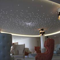 Falso techo de material compuesto / tipo panel / acústico / luminoso
