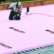 Aislante térmico / de poliestireno extruido / para tejados / tipo panel