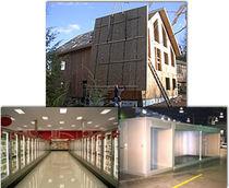 Aislante térmico / de poliestireno extruido / para puerta / tipo panel