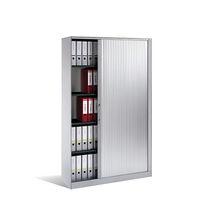 Armario de oficina alto / de chapa de madera / de acero / de vidrio