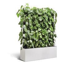 Maceta de jardín de metal / de libre instalación / rectangular / con enrejado