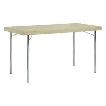 Mesa moderna / de acero / rectangular / para edificio público