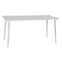 Mesa moderna / de madera / rectangular / redonda