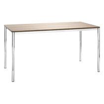 Mesa de trabajo moderna / de HPL / de madera / de acero