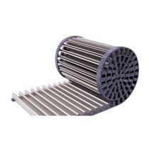 Rejilla de ventilación de aluminio / lineal / para suelo técnico