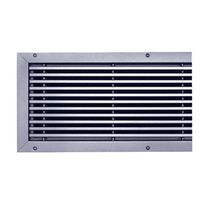 Rejilla de ventilación de aluminio / rectangular