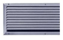 Rejilla de ventilación de acero / rectangular / ajustable