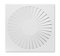 Difusor de aire de techo / redondo / cuadrado