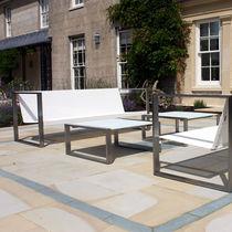 Sofá modular / moderno / de jardín / de cuero artificial