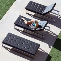 Chaise longue moderna / de Batyline® / de jardín / doble