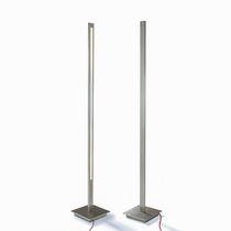 Lámpara de pie / moderna / de acero inoxidable / de exterior