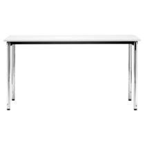 Mesa moderna / de metal / de material laminado / rectangular