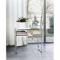 Mesa nido / de diseño Bauhaus / de madera / de vidrio