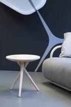 Mesa auxiliar / moderna / de roble / de nogal