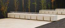 Aparcabicis de hormigón / para espacio público