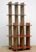 Estantería modular / moderna / de cartón