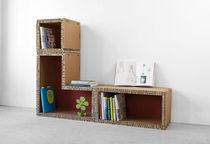 Biblioteca modular / moderna / de cartón