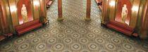 Mosaico de interior / para suelo / de gres porcelánico / pulido