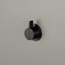 Grifo monomando para lavabo / para ducha / de pared / de acero inoxidable